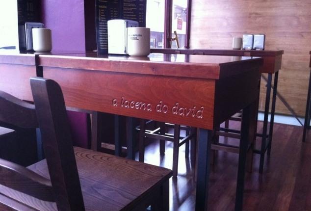 Alacena do David, Tapería-Tienda Delicatessen, Ourense